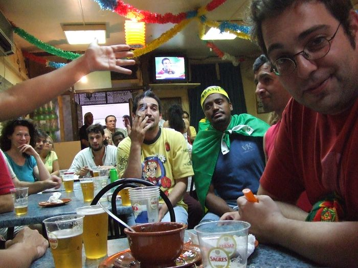 Portugal, Klaxons de victoire à Lisbonne